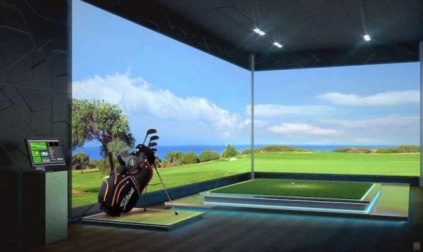 The Estates Acqualina Golf Simulator