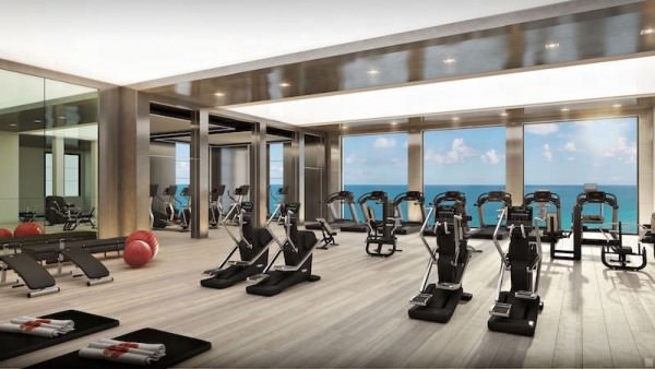 The Estates at Acqualina Gym