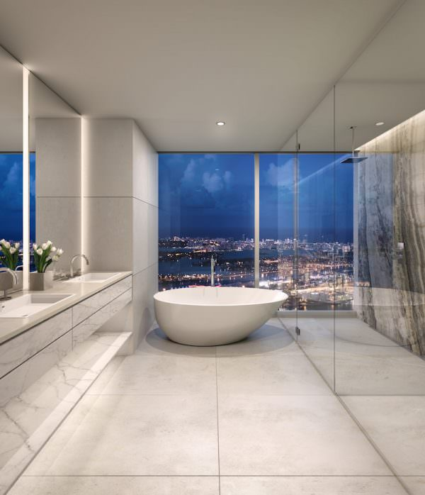 One River Point Bathroom 1