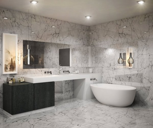 Aurora Sunny Isles Bathroom
