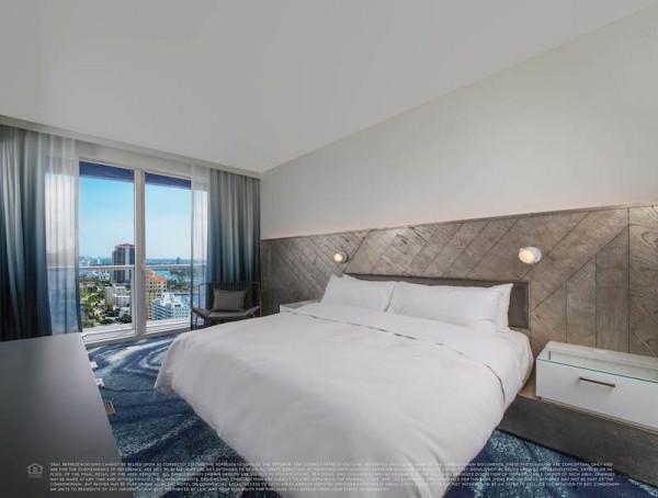W Fort Lauderdale Bedroom