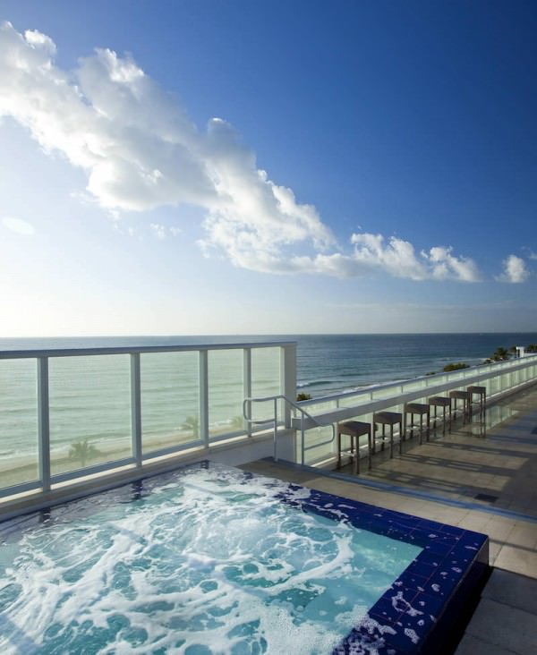 W fort lauderdale 401 n fort lauderdale beach blvd for Pool design fort lauderdale
