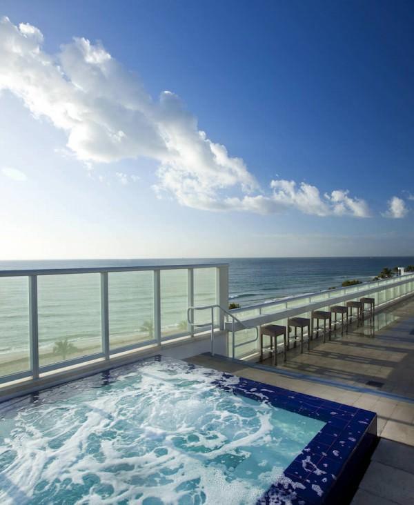 W fort lauderdale 401 n fort lauderdale beach blvd for Pool design fort lauderdale