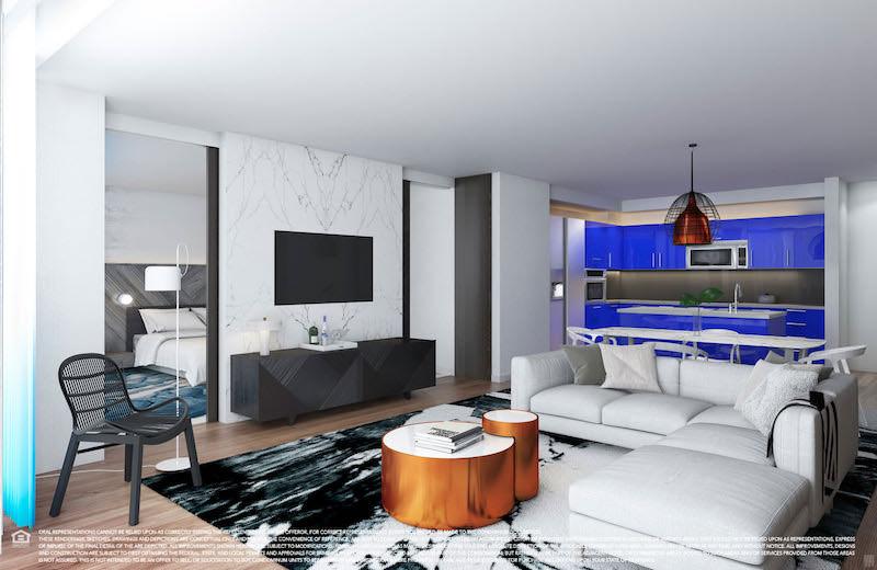 W living room fort lauderdale baci living room for Living room w hotel fort lauderdale