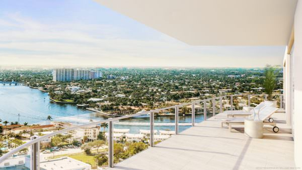 Four Seasons Fort Lauderdale Balcony Intracoastal