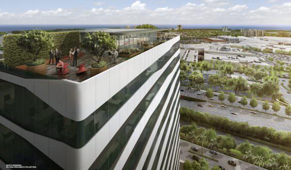 Forum Aventura-rooftop