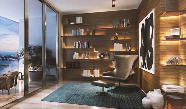 paraiso-bay-homes-library