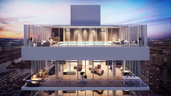 2000 Ocean 2 level Penthouse