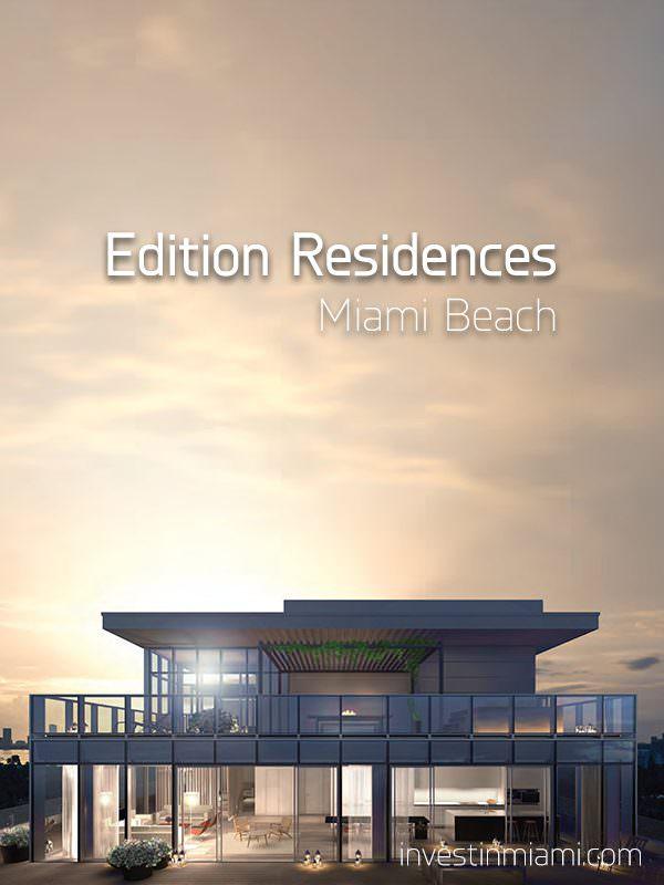 Edition Residences Miami Beach