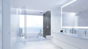 Aston Martin Residences Miami - Unit 01A Master Bathroom