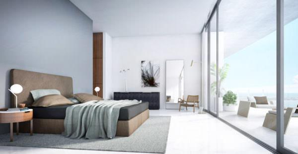 Aston Martin Residences Miami - Unit_01 Master Bedroom