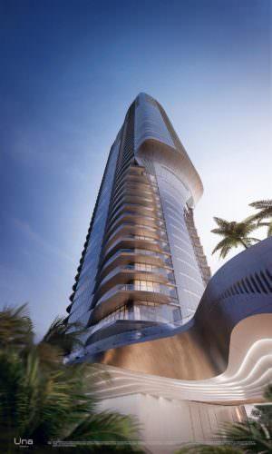 Una Miami Residences Exterior