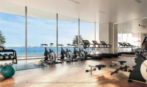 Una Miami Residences Gym