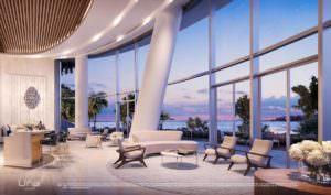 Una Miami Residences Lobby