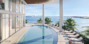 Una Miami Residences North Pool Deck