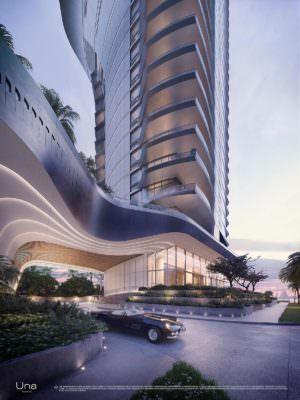 Una Miami Residences Porte Cochere