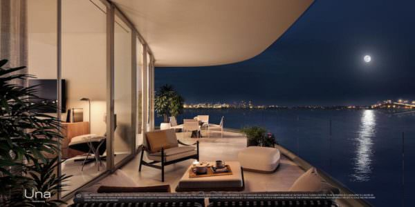 Una Miami Residences Terrace
