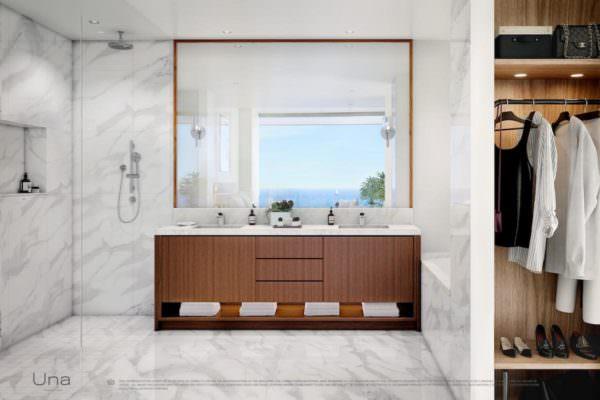 Una Residences Miami Brickell Bathroom