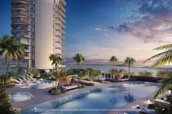 Una Residences Miami Brickell Lap Pool