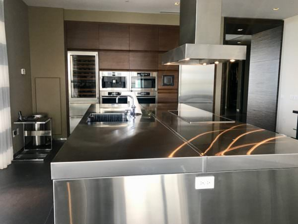 Apogee Miami Beach Custom Kitchen