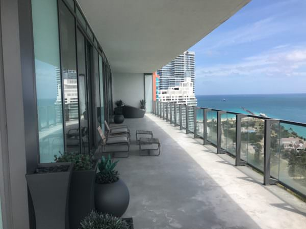 Apogee Miami Beach Terrace