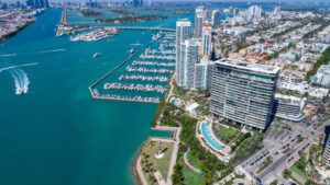 Apogee Miami Beach Building Aerial 1