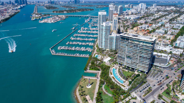 Apogee Miami Beach Building Aerial 1