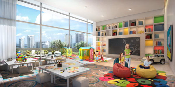 Canvas Miami Kids Room