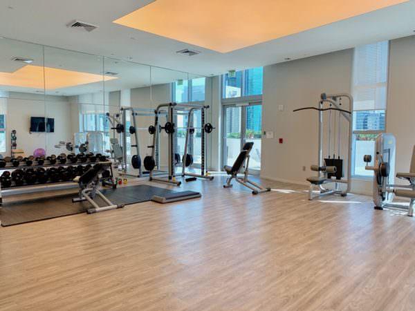1100 Millecento Gym 2