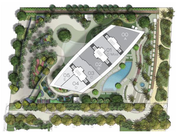 Armani Casa Site Plan