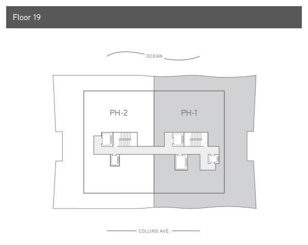 57 Ocean Level 19 Floor Plan