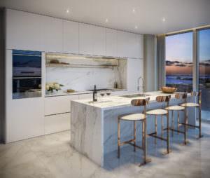 57 Ocean Miami Beach Kitchen