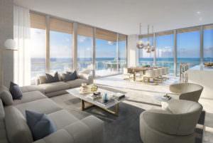 57 Ocean Miami Beach Living Room