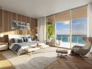 57 Ocean Miami Beach Master Bedroom