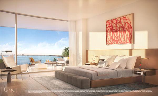 Una Residences Bedroom