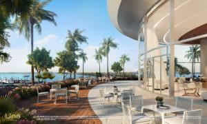 Una Residences Lounge Terrace