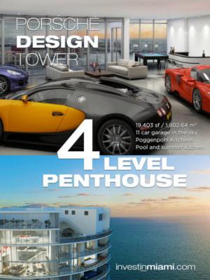 Porsche Design Tower Penthouse Art
