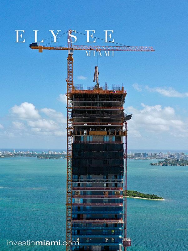 Elysee Miami Residences tower