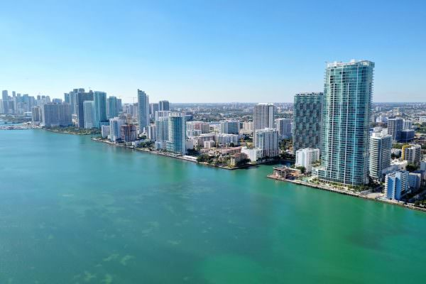 Biscayne Beach South View