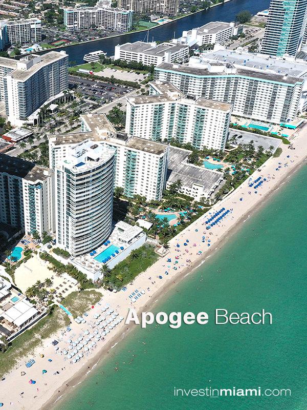 Apogee Beach Aerial Ad