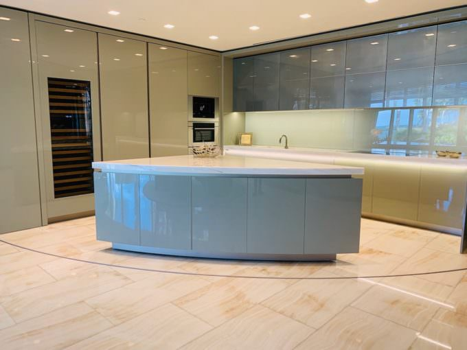 Armani designed Kitchen