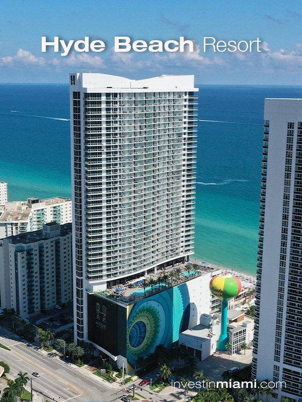 Hyde Beach Resort Building Ad