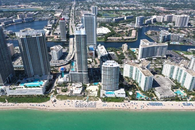 Hyde Beach Resort Aerial 1