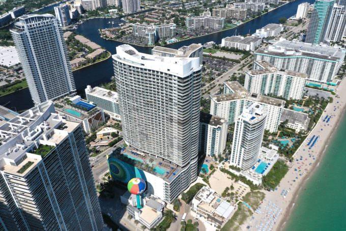 Hyde Beach Resort Aerial 3