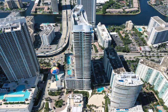 Hyde Beach Resort Aerial 4