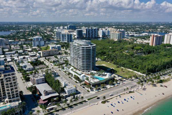 Paramount Fort Lauderdale Building Aerial 1