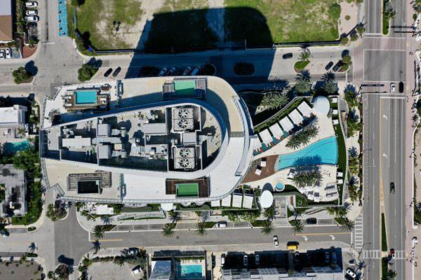 Paramount Fort Lauderdale Aerial