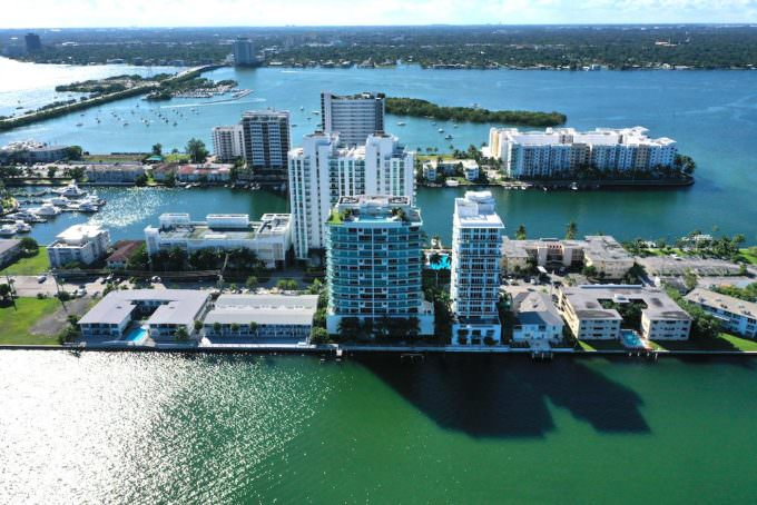 Cielo on the Bay Aerial 1