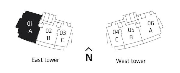 Residences Key Plan