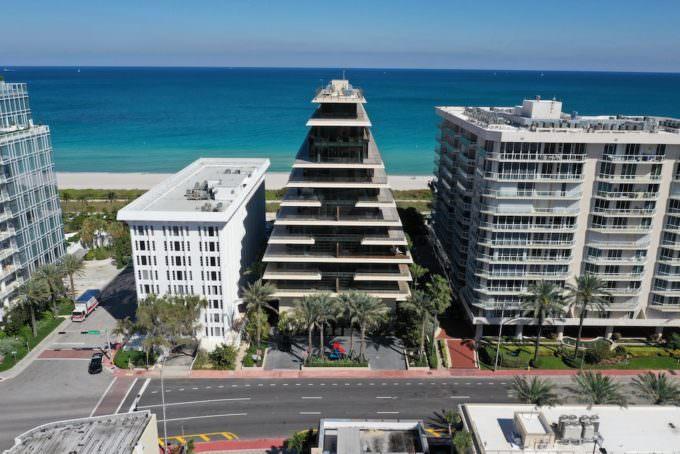 Arte Surfside Building Ocean
